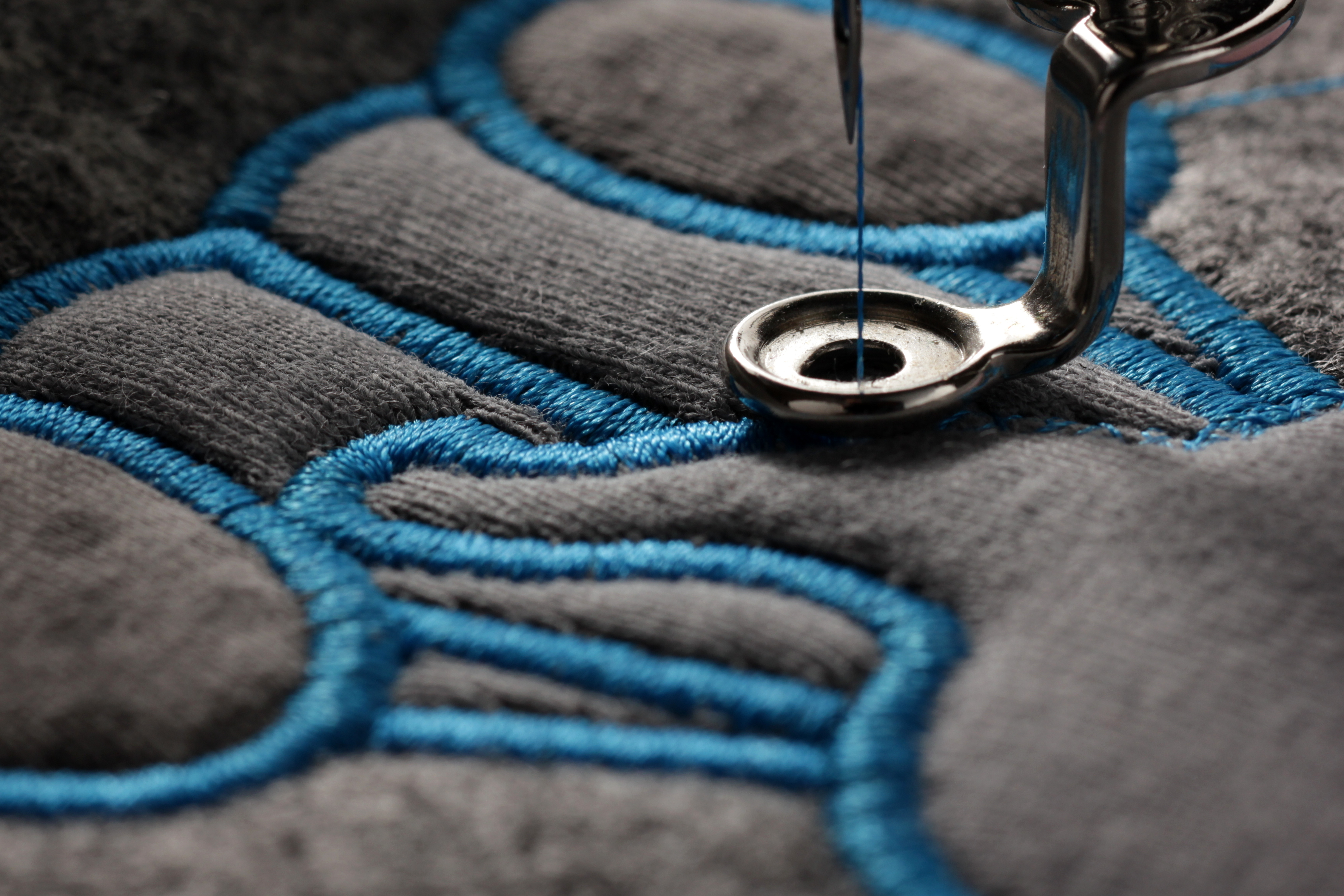 embroidery at ICC